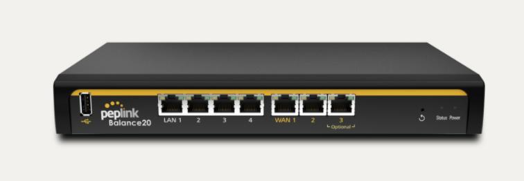Peplink balance 20 Multi-WAN Router